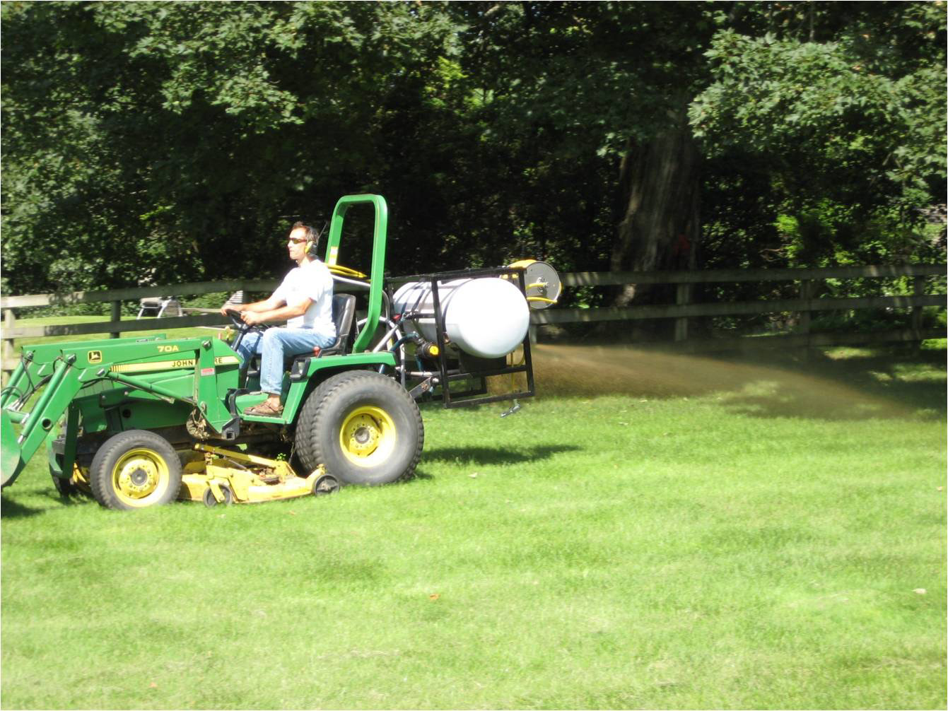 PTO 3 Point Hitch Compost Tea Sprayer