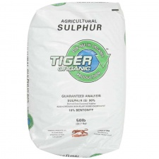 Granular Sulfur Tiger OMRI Listed